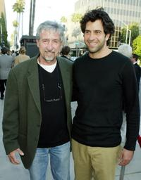 Tom Hayden and Troy Garity at the screening of