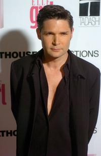 Corey Feldman and and his wife Susie Sprague Feldman at the First Annual ELLEGIRL Hollywood Prom party.