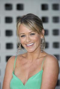 Christine Taylor at the world premiere of