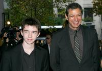 Liam Aiken and Jeff Goldblum at the Toronto International Film Festival.