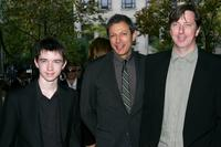 Liam Aiken, Jeff Goldblum and director Hal Hartley at the Toronto International Film Festival.