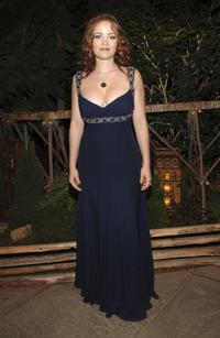 Erika Christensen at the ESCADA and The New York Botanical Garden Winter Wonderland Ball.