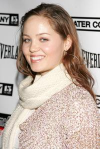 Erika Christensen at the LAByrinth Theater Companys 4th Annual Celebrity Charades.