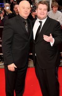 Ross Kemp and James Corden at the British Academy Television Awards 2008.