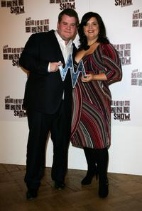 James Corden and Ruth Jones at the South Bank Show Awards 2008.