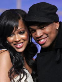 Meagan Good and Singer Ne-Yo at the BET's 106th and Park.