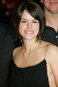 Emily Hampshire at the Opening Night of the 56th Berlin International Film Festival.