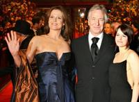 Sigourney Weaver, Alan Rickman and Emily Hampshire at the screening of