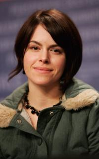 Emily Hampshire at the press conference of