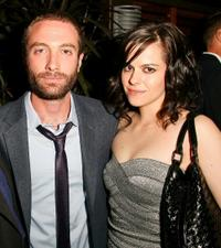 Jacob Tierney and Emily Hampshire at the Alliance party during the 2010 Toronto Film Festival.