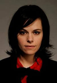 Emily Hampshire at the Tribeca Film Festival 2010.