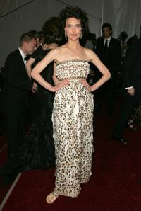 Shalom Harlow at the Metropolitan Museum of Art Costume Institute Benefit Gala: Anglomania.