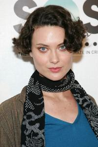 Shalom Harlow at the opening night premiere of