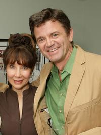 John Michael Higgins and Guest at the 2008 Pre-Emmys DPA Gifting Lounge.