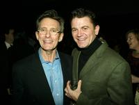 Director Marc Lamos and John Michael Higgins at the opening night party of