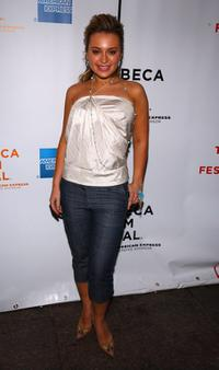 Monica Keena at the screening of