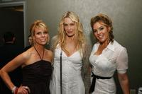 Cheryl Hines, Daryl Hannah and Sandra Taylor at the after party of the premiere of