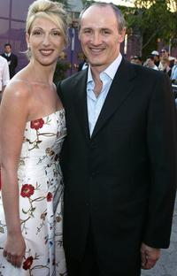 Colm Feore and wife Donna Feore at the premiere of