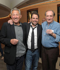 Israel Horovitz, Brett Ratner and Steve Casale at the New York premiere of