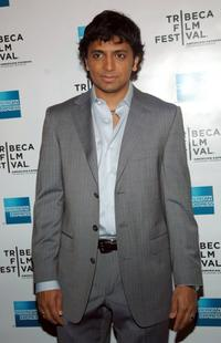 M. Night Shyamalan at the M. Night Shyamalan book reading during the Tribeca Film Festival.