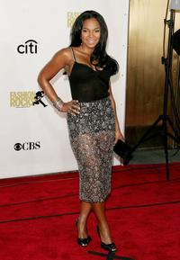 Ashanti at the Conde Nast Media Groups Fourth Annual Fashion Rocks Concert.