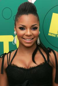 Ashanti at the MTVs Total Request Live.