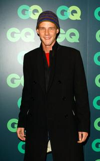 Eloy Azorin at the 9th Annual GQ Fashion Show party.