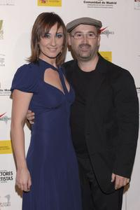 Natalie Poza and Javier Camara at the 15th Actors Union Awards Ceremony.