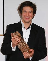 Guillaume Canet at the 32nd Cesars film awards ceremony.