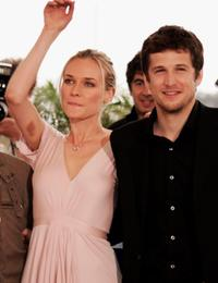 Diane Kruger and Guillaume Canet at the photocall of
