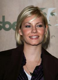 Elisha Cuthbert at the AREA Nightclub Grand Opening.