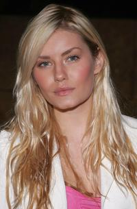 Elisha Cuthbert at the launch of Christian Dior's latest timepiece, Christal.