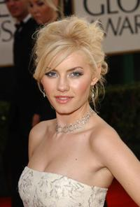 Elisha Cuthbert at the 60th Annual Golden Globe Awards.