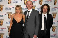 Lucy Davis, Simon Pegg and Edgar Wright at the BAFTA/LA's Inaugural British Comedy Awards.