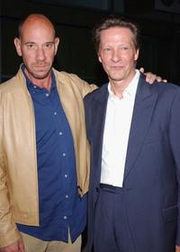 Miguel Ferrer and Chris Cooper at the Los Angeles Premiere of