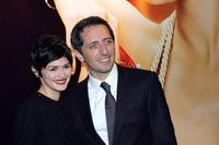 Audrey Tautou and Gad Elmaleh at the screening of