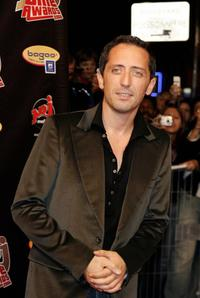Gad Elmaleh at the third edition of the NRJ Cine Awards show.