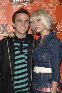 Frankie Muniz and fiance Jamie Gandy at the FOX Fall Casino party.