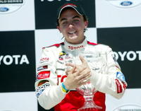 Frankie Muniz at the 29th Annual Pro Celebrity Race of The Toyota Grand Prix.
