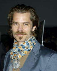 "Timothy Olyphant at the premiere of ""Deadwood"" in Hollywood."