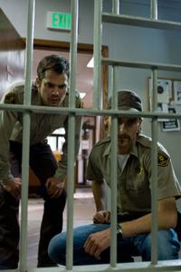 Timothy Olyphant and Joe Anderson in
