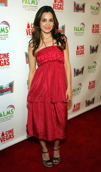 Gina Philips at the opening of