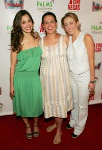 Gina Philips, Amy Greenspun and Jessica Kavana at the CineVegas Film Festival.