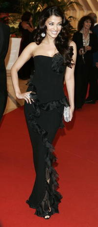 Aishwarya Rai at the Palais during the 59th International Cannes Film Festival.