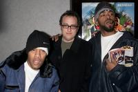 Redman, director Jesse Dylan and Method Man at the premiere of