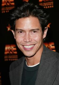 Anthony Ruivivar at the A & E Television Networks' 20th anniversary celebration.