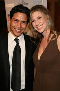 Anthony Ruivivar and Yvonne Jung at the National Hispanic Media Coalition's 10th Annual Impact Awards gala.