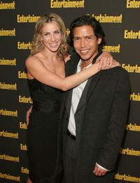 Ivonne Jung and Anthony Ruivivar at the Entertainment Weekly's Oscar Viewing party.