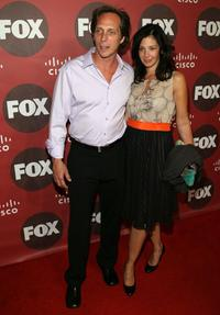 William Fichtner and wife Kym at the Fox Fall Eco-Casino Party.