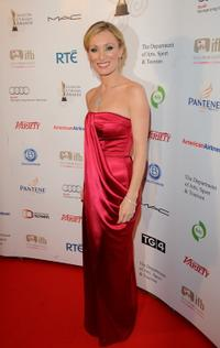 Victoria Smurfit at the 7th Annual Irish Film and Television Awards.